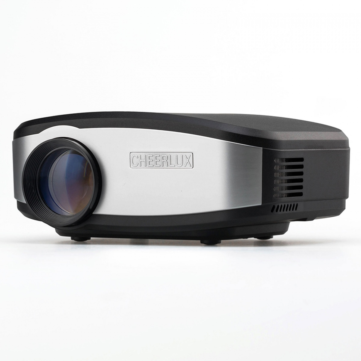 Cheerlux C6 Mini LED Projector With WIFI Connection - Silver