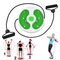 Waist Exercise Twister Body Fitness Figure Trimmer - Green