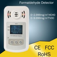 Air Quality Formaldehyde Gas Detector - White