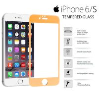Yoobao Apple iPhone 6/S Tempered Glass Protector Screen - Gold