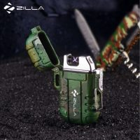 Zilla Dual Arc Micro USB Rechargeable Electric Cigarette Lighter - Camouflage