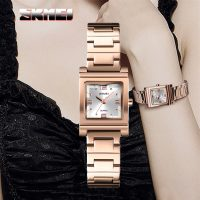 Skmei 1388 Luxury Quartz Women's Watch - Rose Gold
