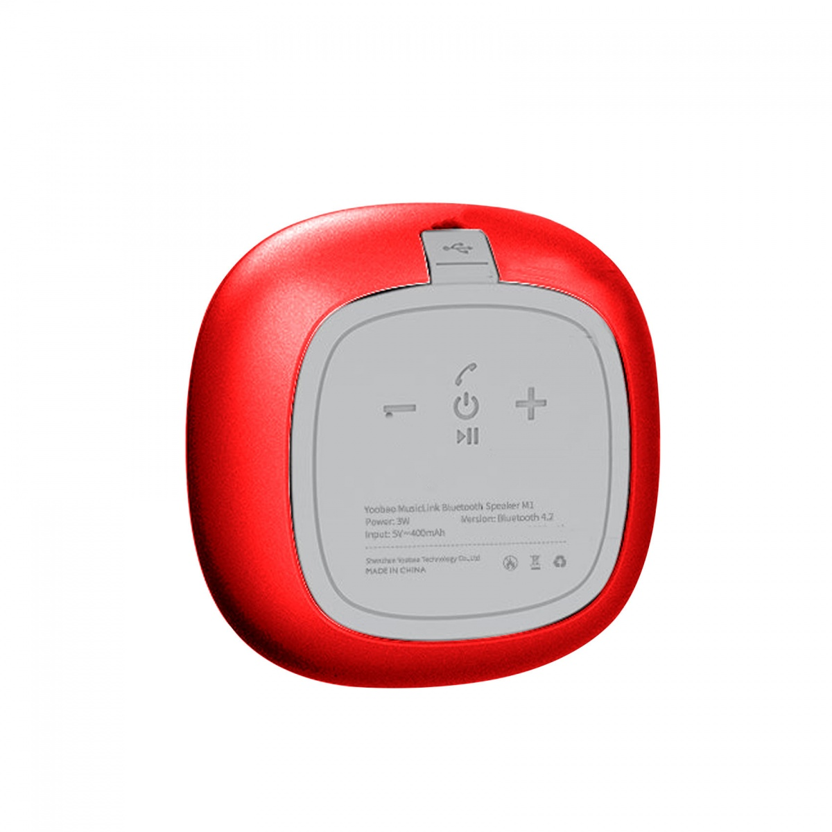 Yoobao M1 Portable Bluetooth Speaker – Red 4