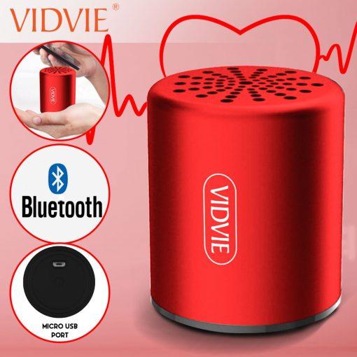 Vidvie SP909 Mini TWS Speaker - Red