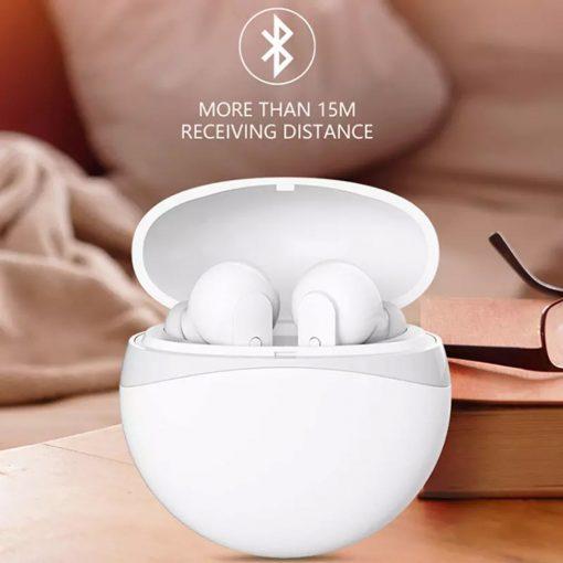 Zilla T21 TWS Bluetooth Headphones - White