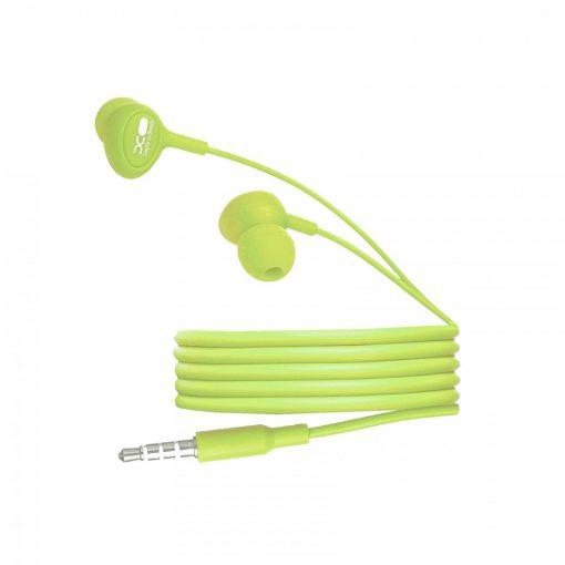 XO S6 Candy Earphone Series Handsfree In Ear Earphone - Green