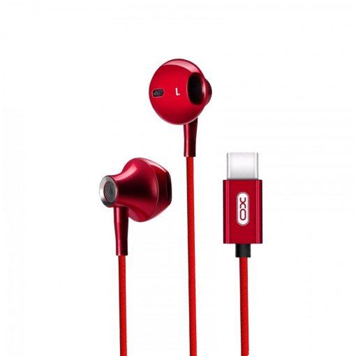XO S30 Type-C Earphone - Red