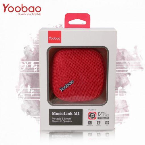 Yoobao M1 Portable Bluetooth Speaker - Red