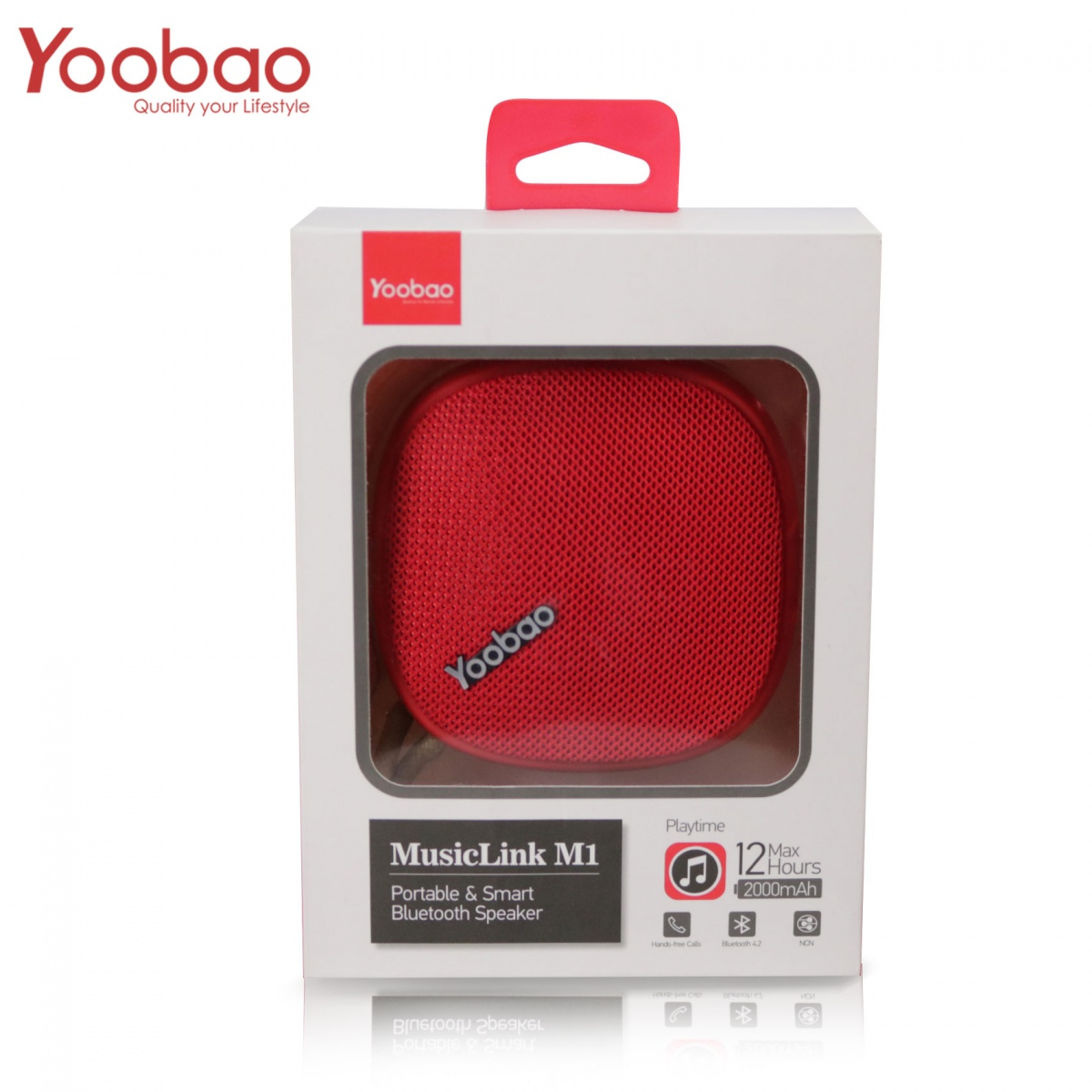 Yoobao M1 Portable Bluetooth Speaker – Red 6