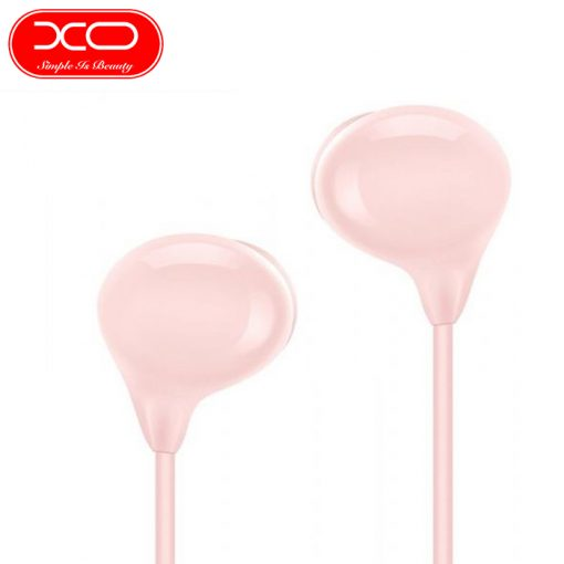XO S12 Bean Earphone High Fidelity Sounds With In-line Controls And Microphone - Black