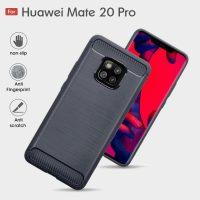 Huawei Mate 20 Pro Fashion Fiber Phone Case - Grey