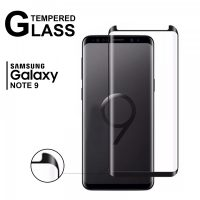 Samsung Note 9 5D Tempered Glass - Black