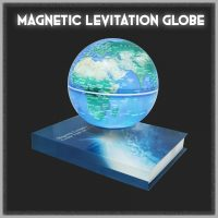 Magnetic Levitation Light Changing Globe