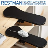 Restman Arm Rest Forearm Support - Black