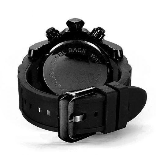 Shhors SH-80085 Men Quartz Analog Sports Watch - Black