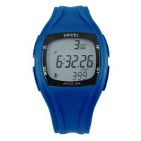 Shhors SH-0270 Sport Watch With Pedometer- Dark Blue