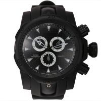 Shhors SH-80085 Men Quartz Analog Sports Watch - Black