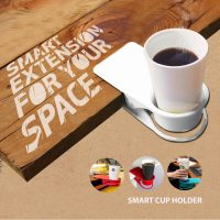 Smart Desk Cup Holder - White