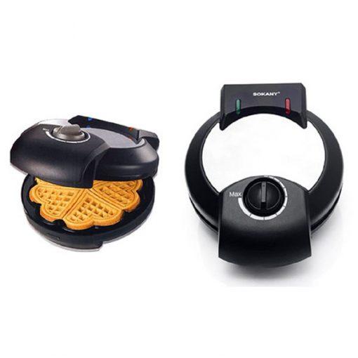 Sokany Waffle Pancake Maker - Black