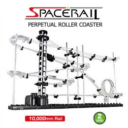 Spacerail Outer Space Track Ball Toy Roller Coaster Level 2 - Black