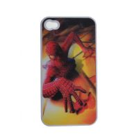 Spider Man 3D Protective case for Iphone 4/4s - White