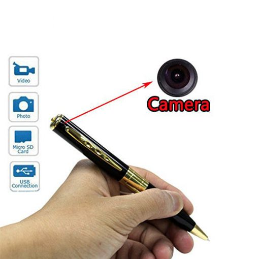 Spy Pen with Camera - Gold