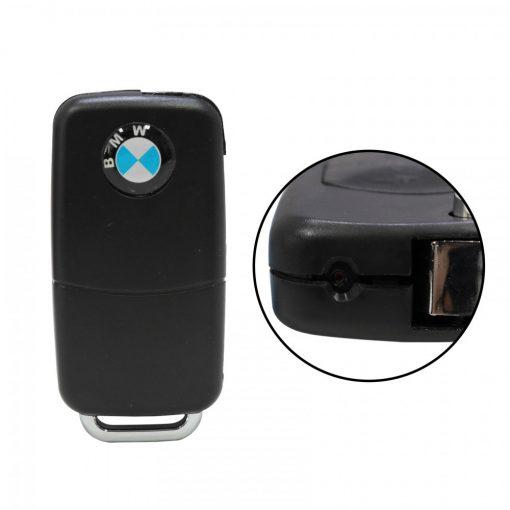 Spybody Car Key Chain With Camera - Black