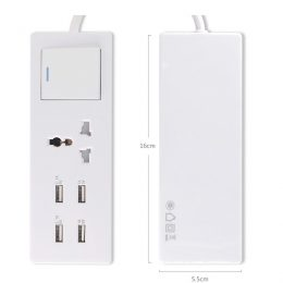 Super Power 4 USB Output Travel Adapter