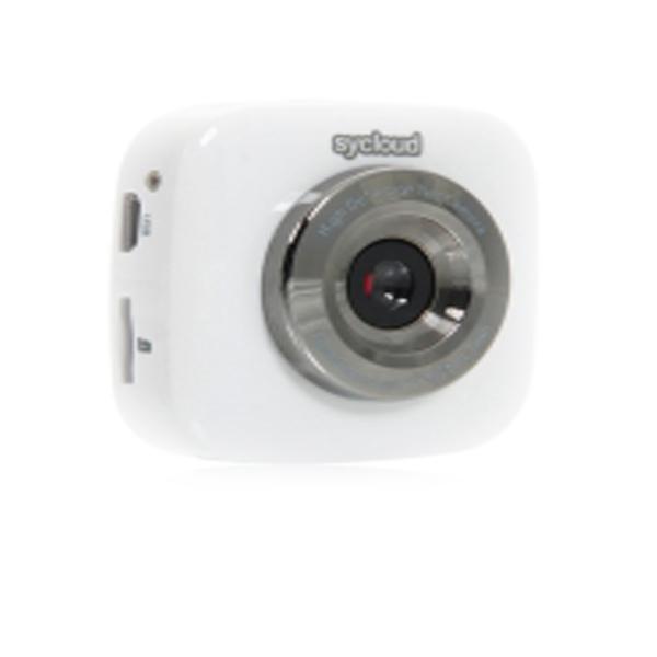 Sycloud 720P HD  All In 1 WiFi Mini DV Video Camera - White