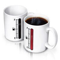 Tank Up Heat Sensitive Coffee Mug