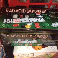 Texas Hold'em Poker Set - Black