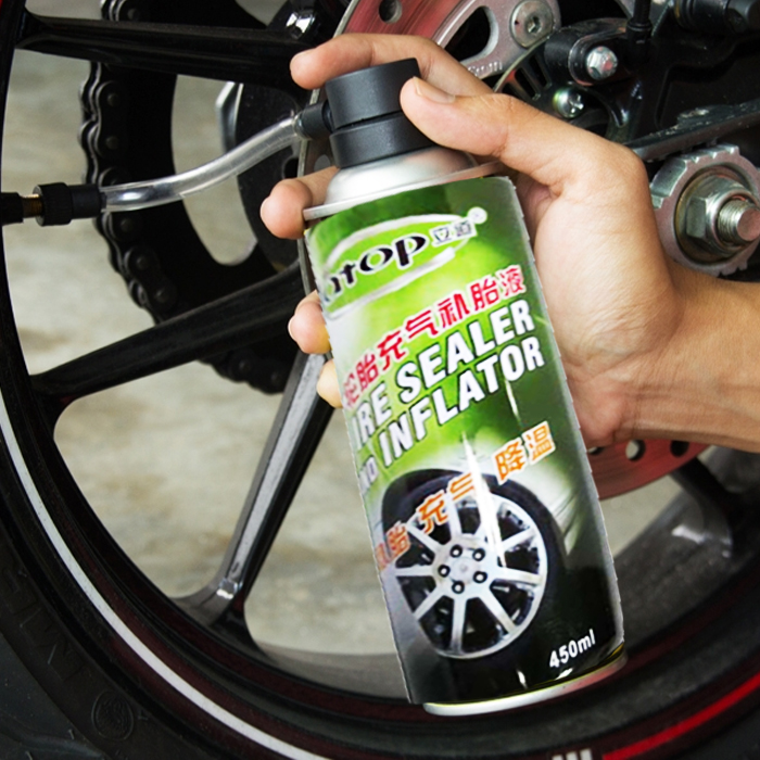 Tire Sealer and Inflator In Can