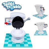 Toilet Trouble Mini Game - White