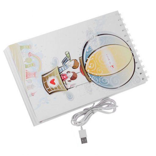 USB Page Turner Desk Lamp