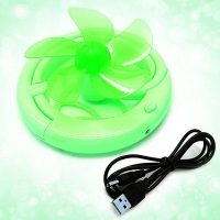 USB Folding Fan - Green