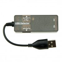 USB Power Detector - Black