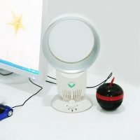 USB Powered Mode Bladeless Fan - White