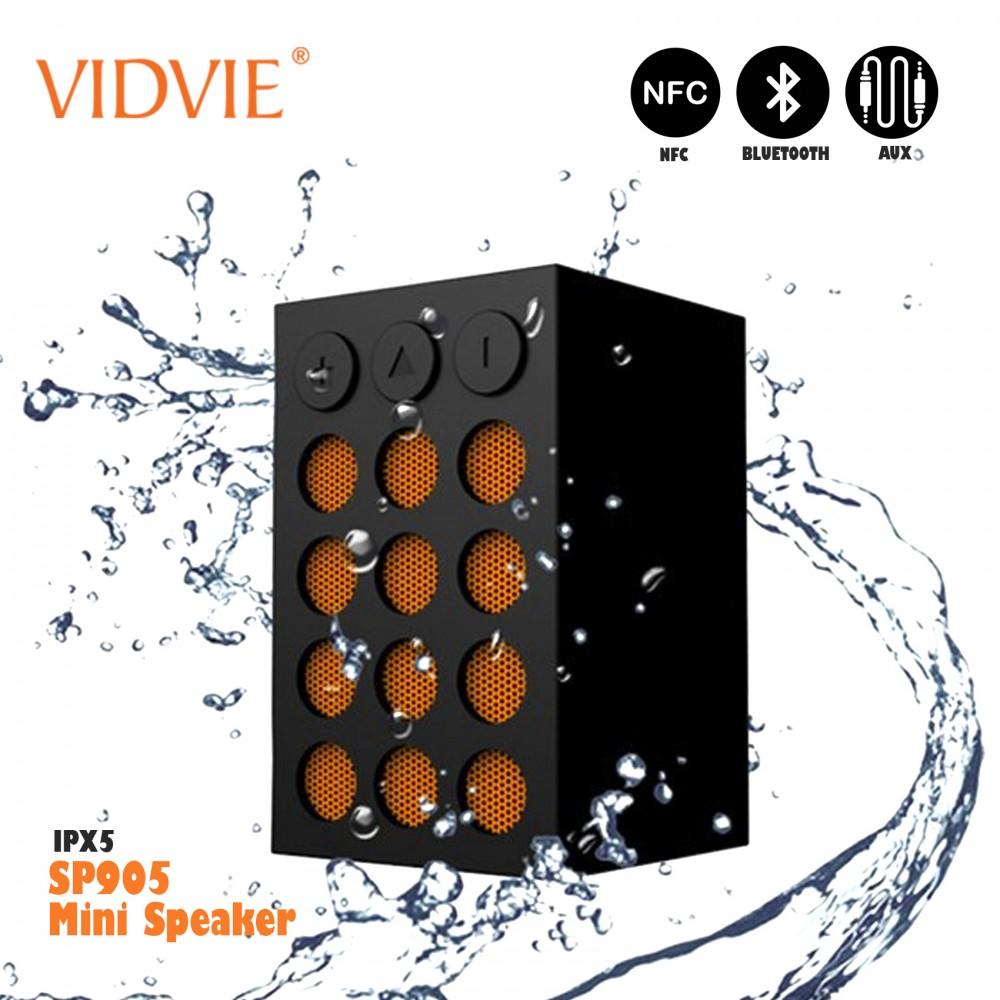 Vidvie IPX5 SP905  Waterproof Mini Bluetooth Speaker - Orange