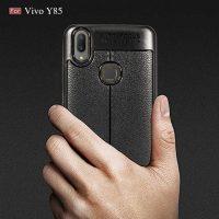 Vivo Y85 Autofocus Silicone Back Cover Case - Black