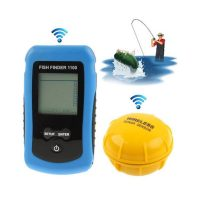 Wireless Fish Finder with LCD Monitor - Blue
