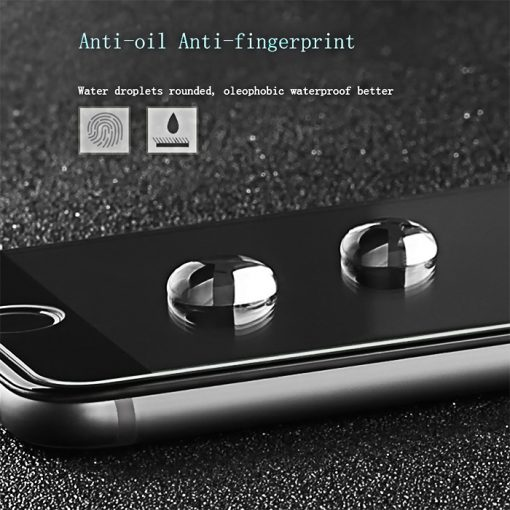 XO Wolverine 0.15mm  3D Privacy Screen Protector For Iphone 7 - Black