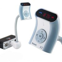 X3 Bluetooth Handsfree FM Transmitter Car Kit