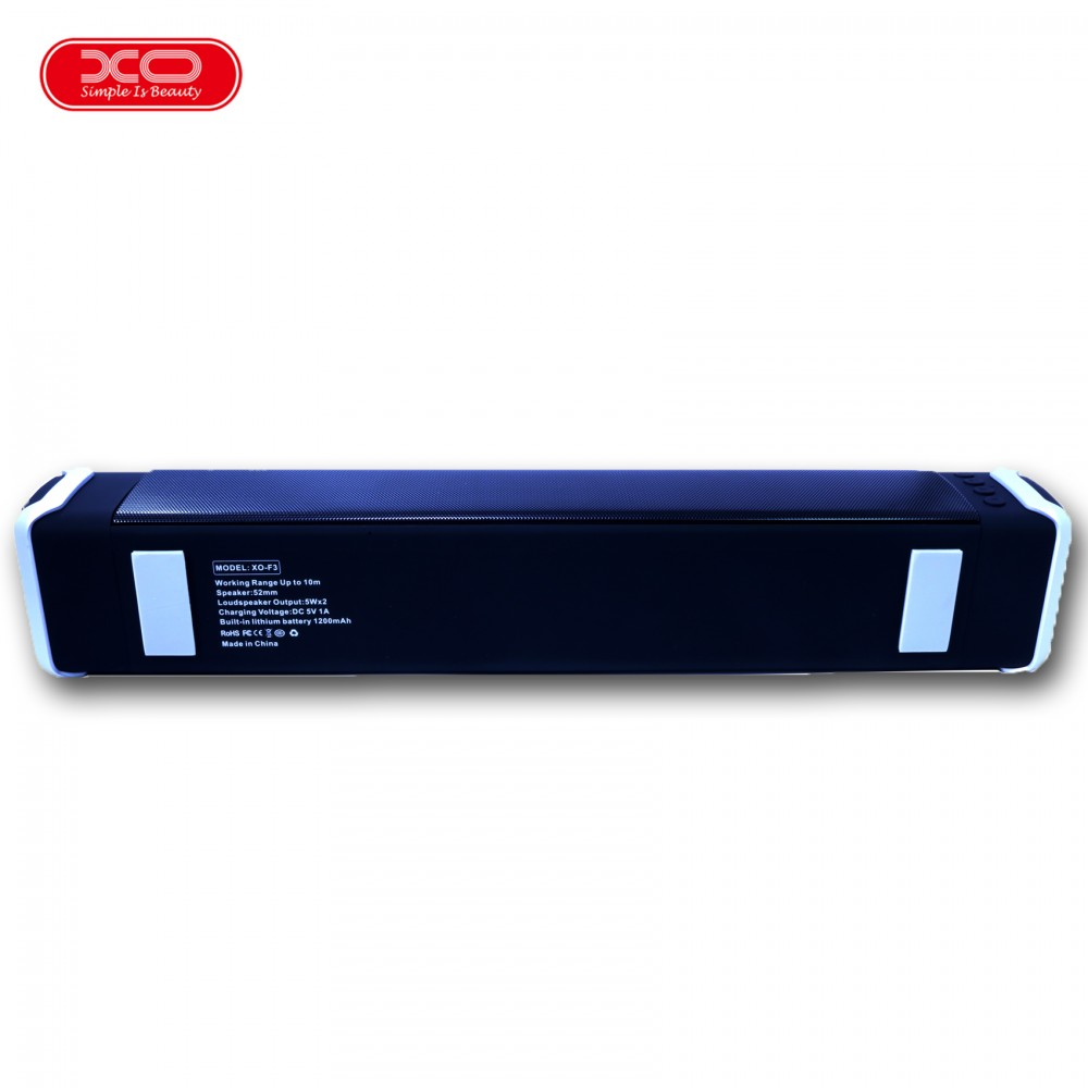 XO F3 Desktop Multifunction Bluetooth Speaker - Black