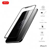 XO 0.15 mm Premium Soft Edge Screen Tempered Glass Protector for iPhone X - Black