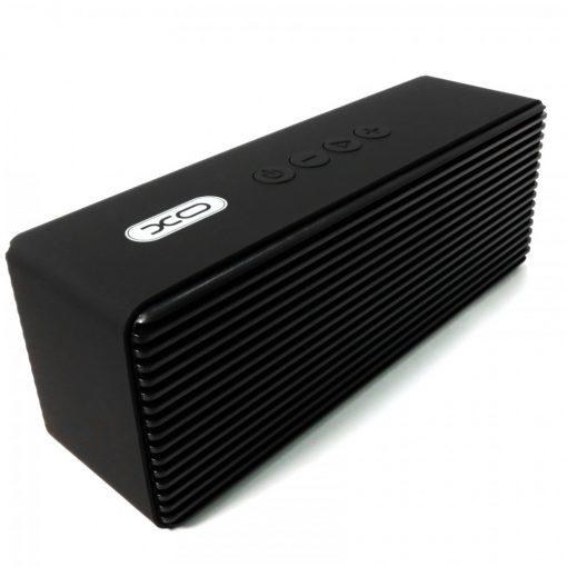 XO F8 Super Bass Metal FInish Multifunction Bluetooth Speaker - Black