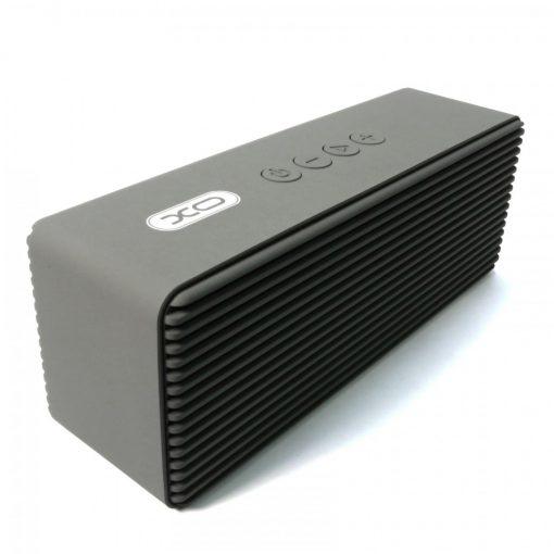 XO F8 Super Bass Metal FInish Multifunction Bluetooth Speaker - Gray