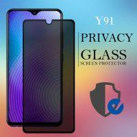 Vivo Y91 Privacy Full Screen Temper Glass