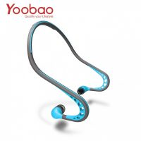 Yoobao Sweat Proof Wired Sports Headphone With Mic - Blue