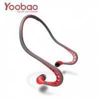 Yoobao Sweat Proof Wired Sports Headphone With Mic - Red