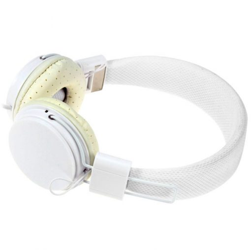 YongLe EP05 Fashionable 3.5mm Headphones with Microphone - White